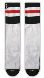 Unisex Merge 4 Haven Tall White Sock