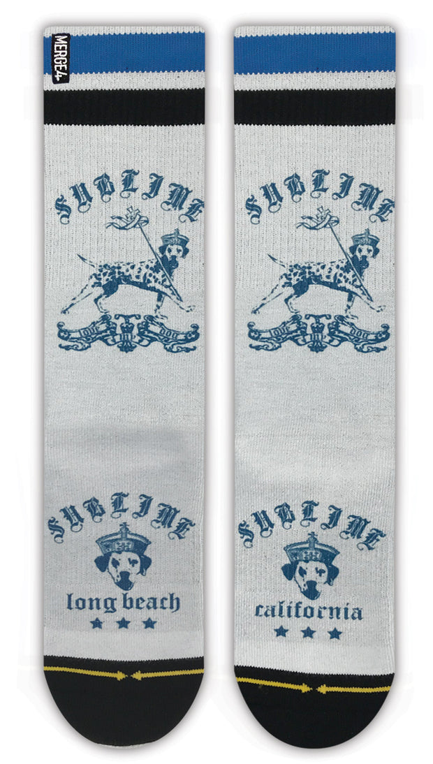Unisex Merge 4 Sublime Lou Dog Sock