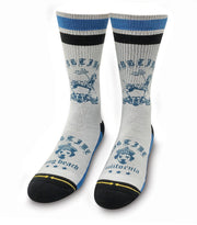 Unisex Merge 4 Sublime Lou Dog Mid Length Crew Sock