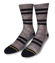 Unisex Merge 4  Skulls Gray Sock