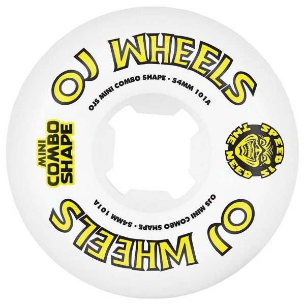 OJ Team Line Original Mini Combo 54mm Wheels