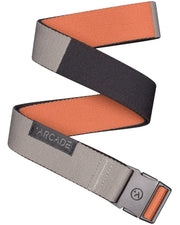 Arcade Ranger Slim Belt - Deep Copper/Color Block