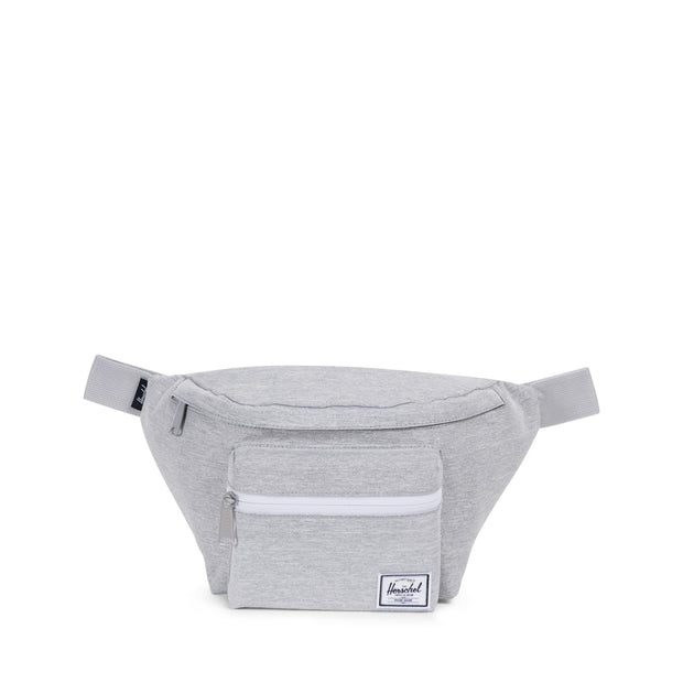 Unisex Herschel Seventeen Hip Pouch | Light Grey Crosshatch