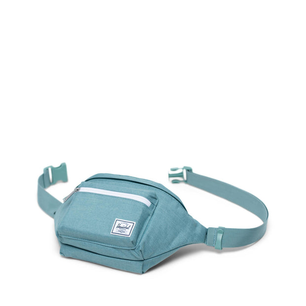 Unisex Herschel Seventeen Hip Pouch | Oil Blue Crosshatch