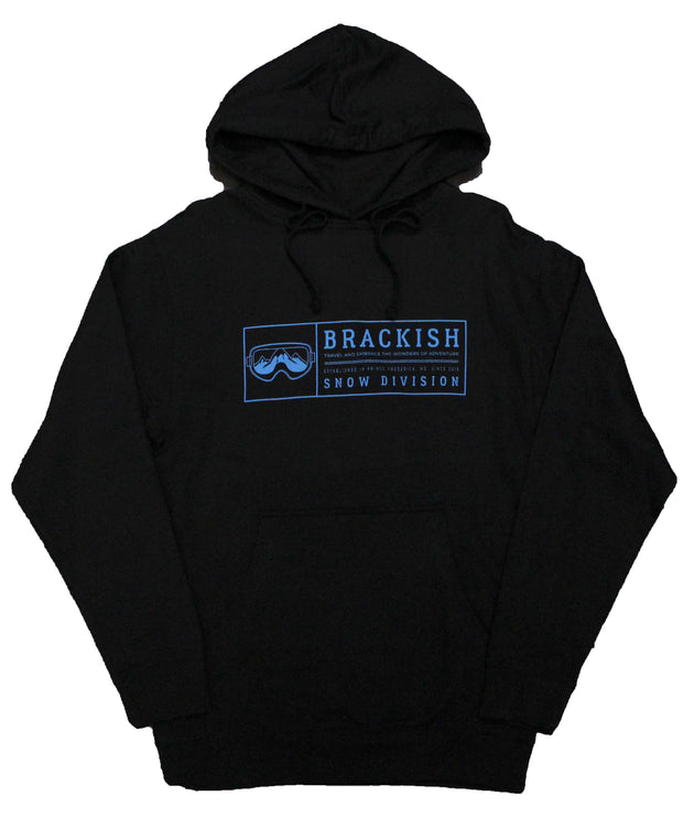 Unisex Brackish Snow Division Mid Weight Popover Hood