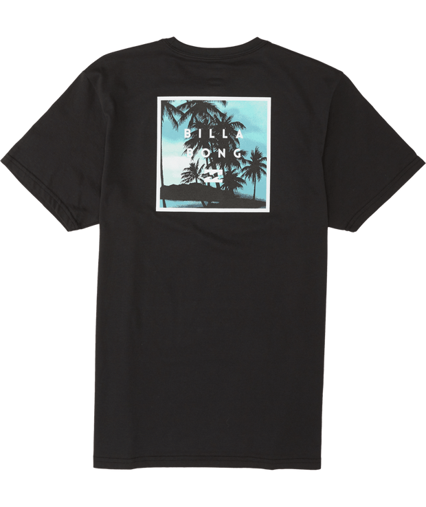 Men's Billabong Stacked Fill SS Tee