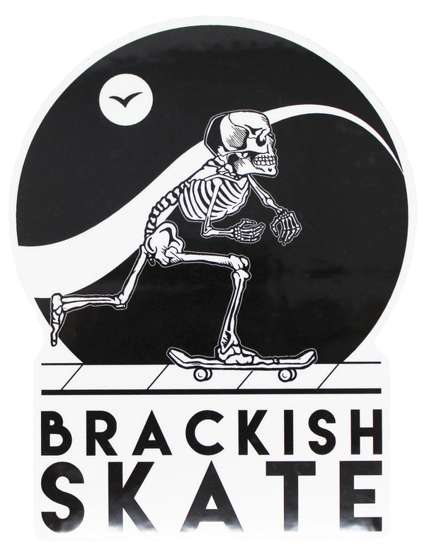 Brackish Skate Sticker