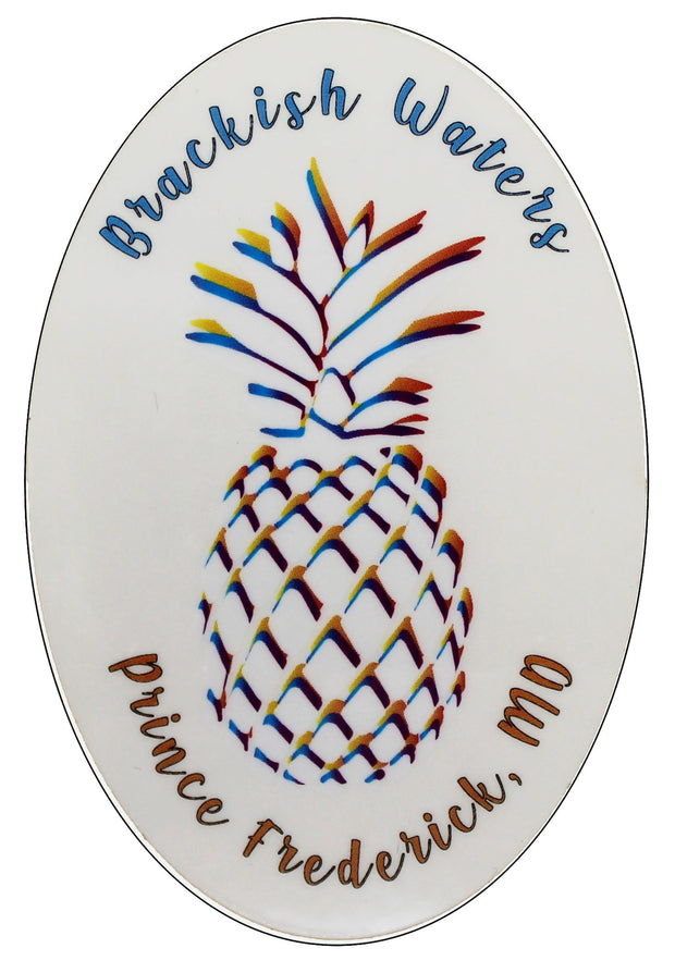 Brackish Waters Pineapple Sticker
