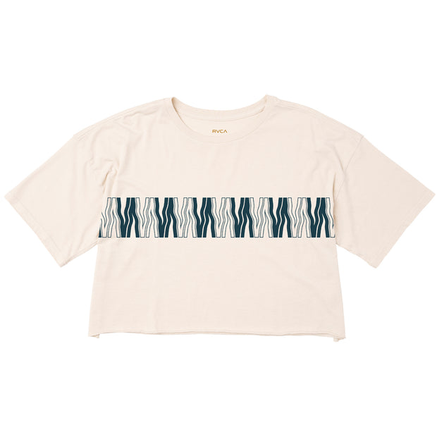 Women's RVCA VA Flow Crop Tee