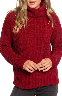 Women's Roxy Velvet Morning Turtle Neck Sweater