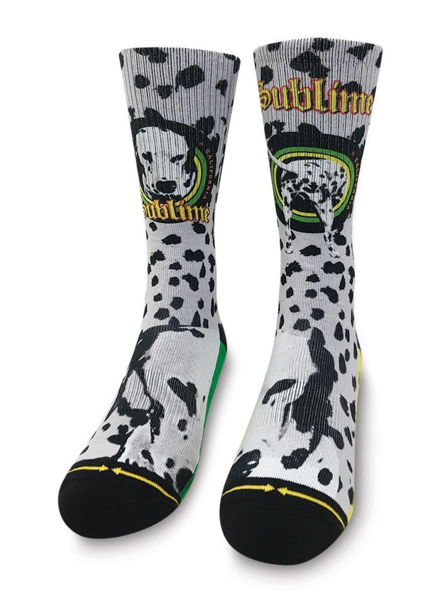 Unisex Merge 4 Sublime Went To The Moon Mid Length Crew Sock