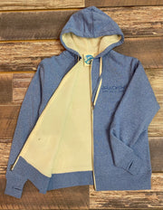 Unisex Brackish Sherpa Lined Hooded Zip