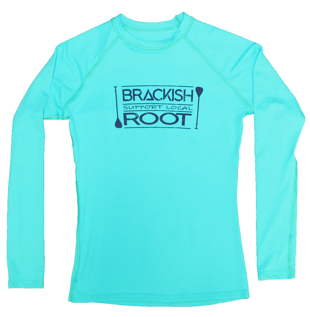 Women's Brackish x Root Long Sleeve Paddle Rash Guard