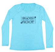 Women's Brackish x Root Long Sleeve Scoop Neck Rash Guard
