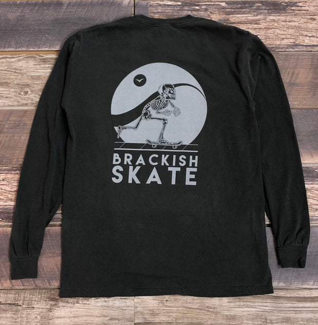 Men's Long Sleeve Brackish Skate - Pepper