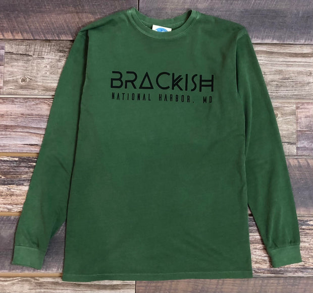 Unisex Brackish National Harbor LS Tee