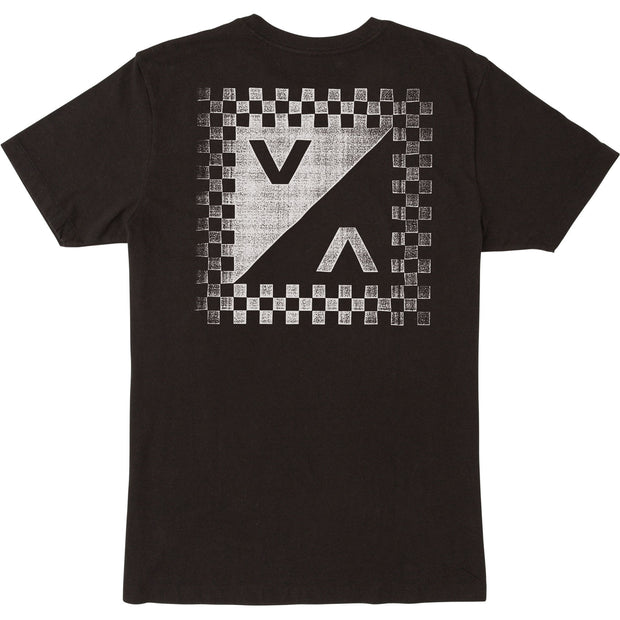 Men's RVCA Check Mate SS Tee