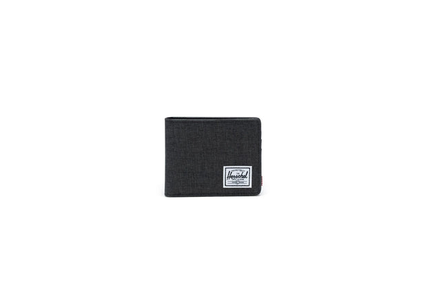 Unisex Herschel Hank Wallet - Black Crosshatch 10368-02093