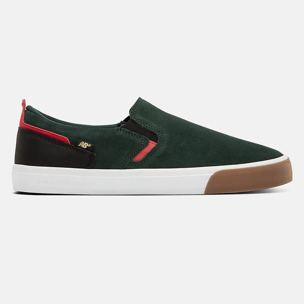 New Balance Numeric 306 Laceless | NM306LGC | Green/Red