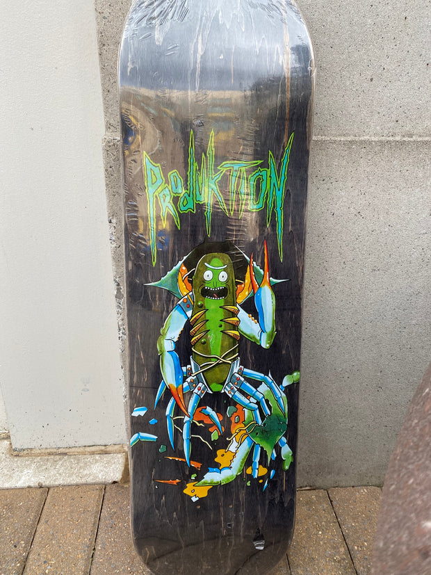 Produktion Skateboards - Pickle Rick