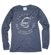 Unisex Brackish Waters Shuck It LS Tee