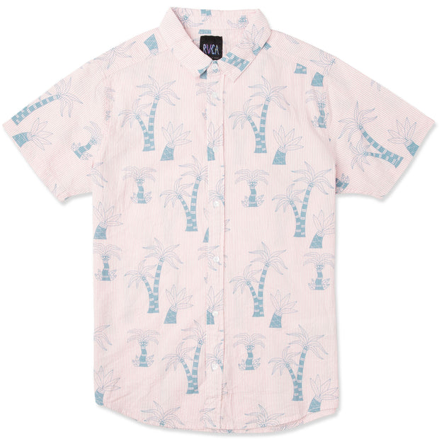 Men's RVCA Liu-Wong Palms SS