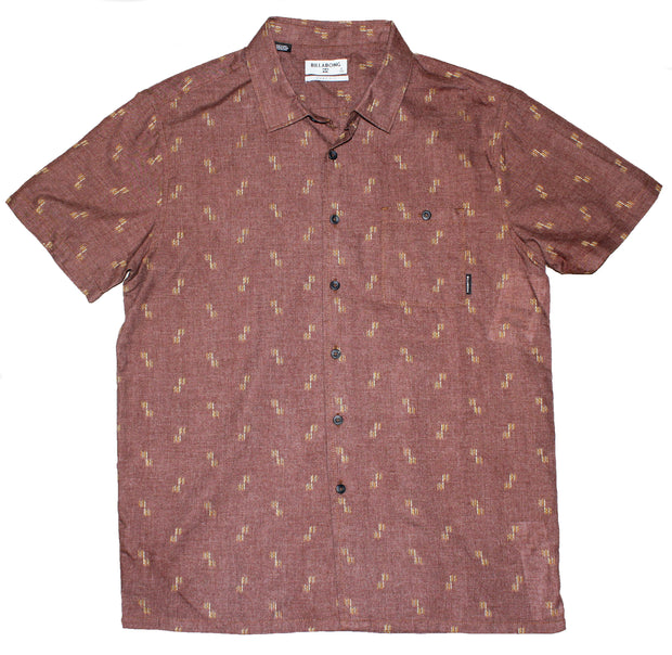 Men's Billabong Sundays Jacquard Short Sleeve