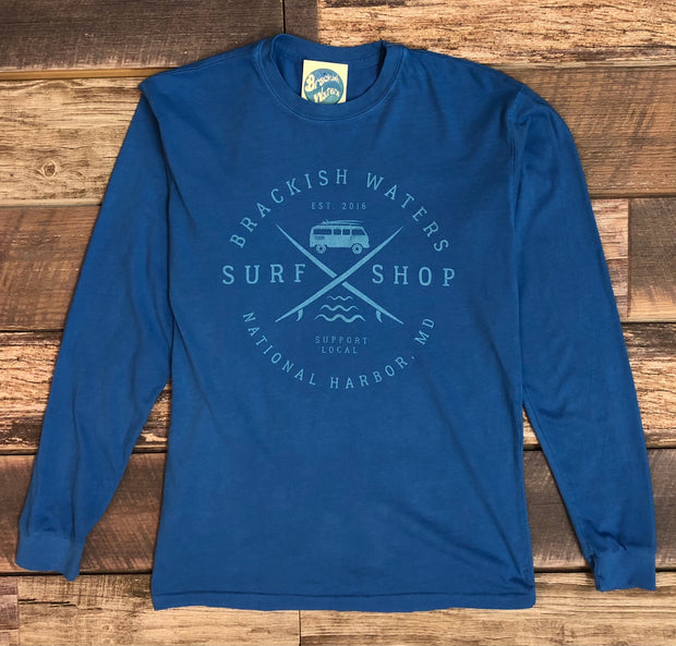Unisex Brackish Surf Van Long sleeve - Ocean