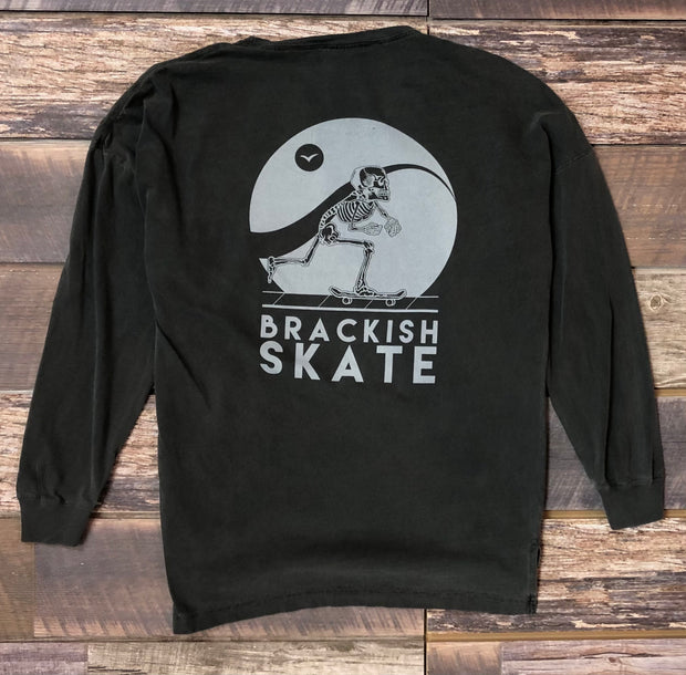 Women's Long Sleeve Brackish Skate - Pepper