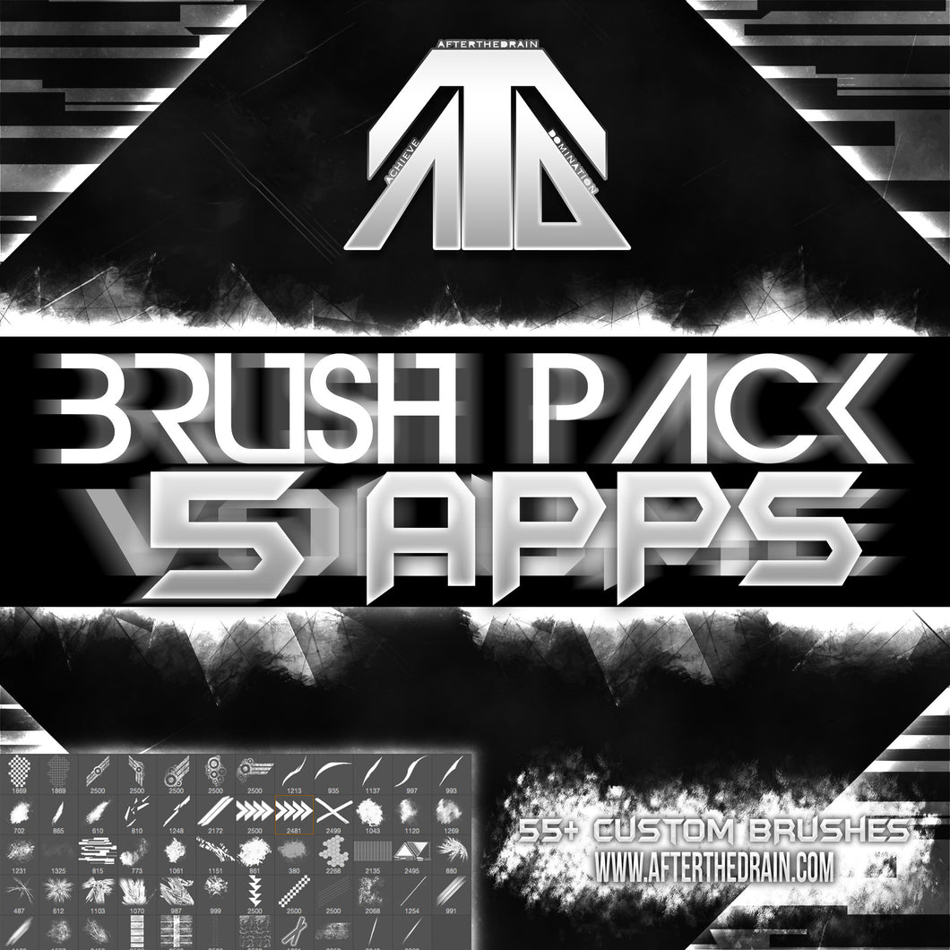 Afterthedrain APPS Brush Pack Vol. 5