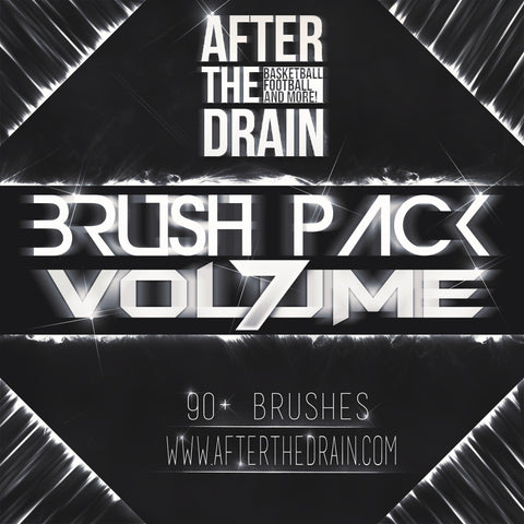 Afterthedrain SOFTWARE Brush Pack Bundle Vol. 1 - Vol. 7