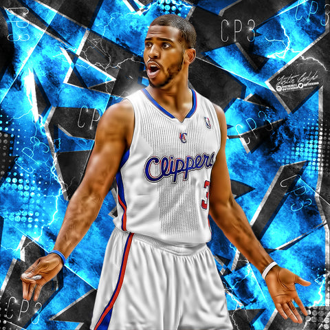 Chris Paul Speedart Edit PSD