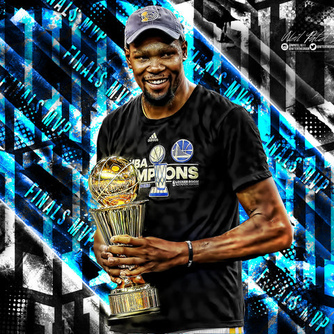 Kevin Durant Finals MVP PSD