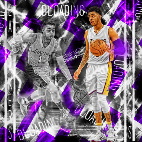 "D'angelo Russell ""Dloading"" Edit PSD"