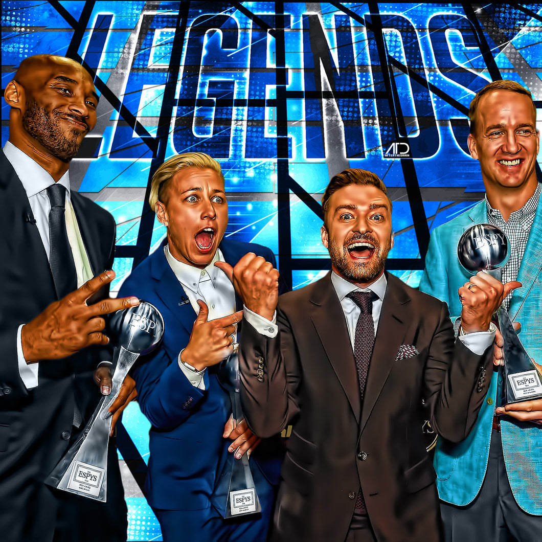 Espn Awards Legends PSD