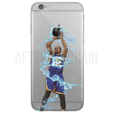 """Slim Reaper Splash"" iPhone Clear Case"