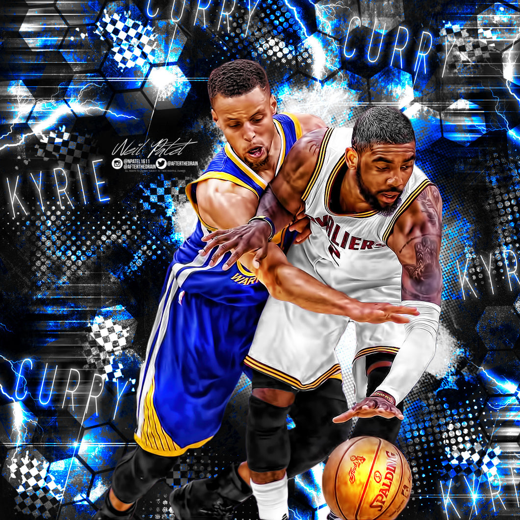 Kyrie Irving x Stephen Curry PSD