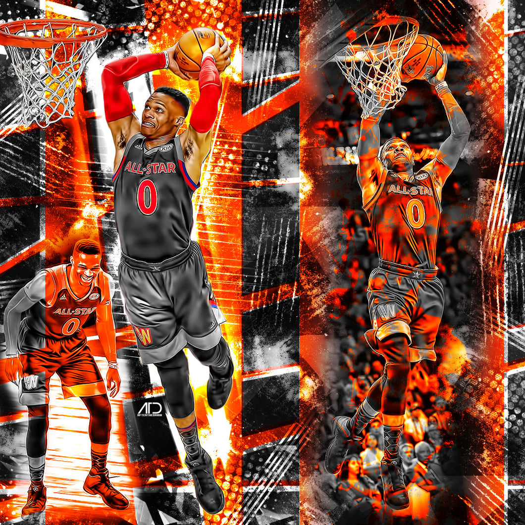 Russell Westbrook ASG Edit PSD