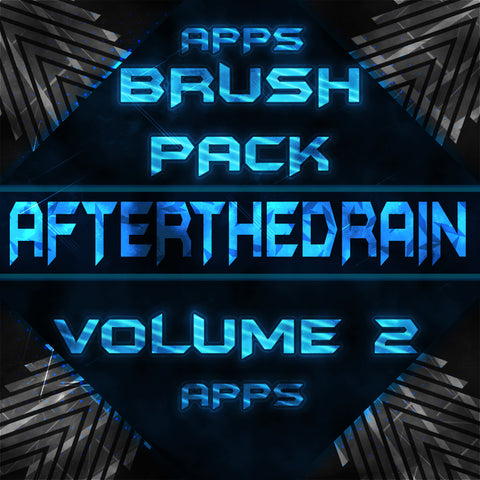 Afterthedrain APPS Brush Pack Vol. 2 - afterthedrain