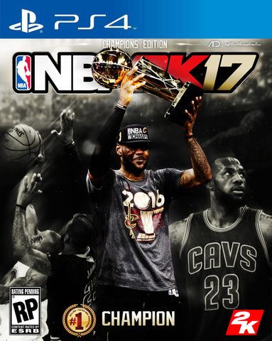 "LeBron James ""Champions Edition"" 2k Cover Concept PSD"