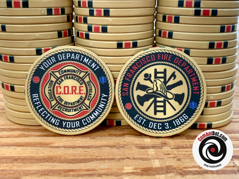 San Francisco Police Department Challenge Coins