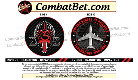 Air Marshall Challenge Coins