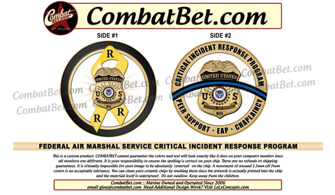 Federal Air Marshall Challenge Coins