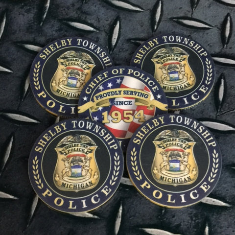 Chief of Police Challenge Coins