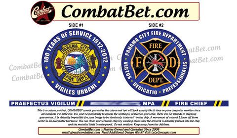 Fire Chief Challenge Coins