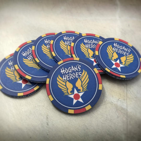 Hogans Heroes poker chips