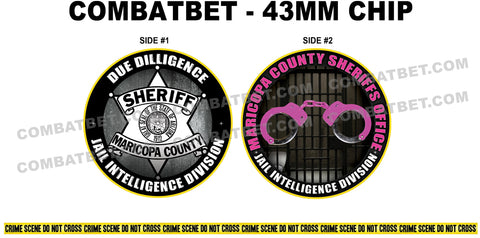 Sheriff Challenge Coin artwork