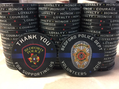 Law Enforcement Challenge Coins for volunteers