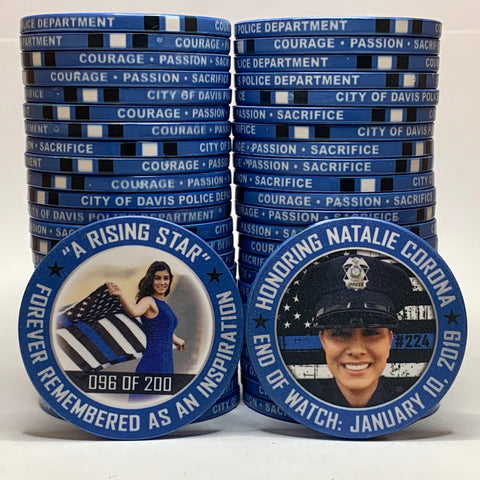 Natalie Corona Limited Edition Challenge Coin
