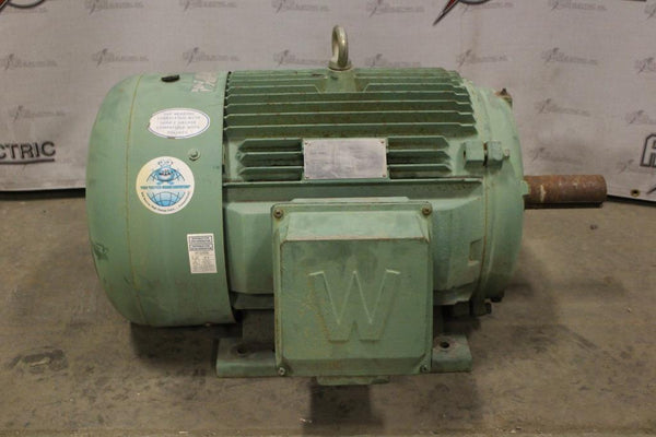 40.00 HP World Wide Electric Motor 1190 RPM 364T Frame 230/460 Volt TEFC